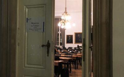 Talk at the Akademie der Wissenschaften und die Wiener Sprachgesellschaft