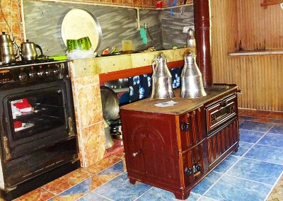 A traditional kitchen in the Pontus region